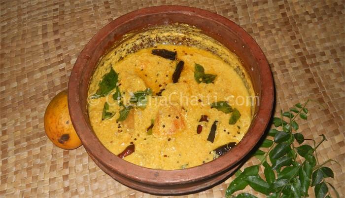 How To Make Traditional Kerala Style Mambazha Kalan