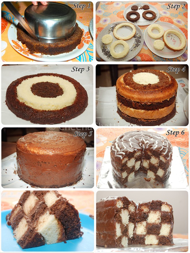 checkerboard-cakes-steps