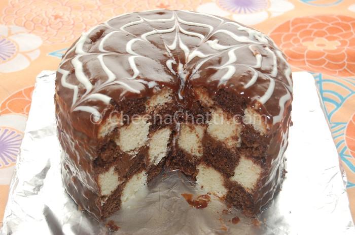 checkerboard-cakes