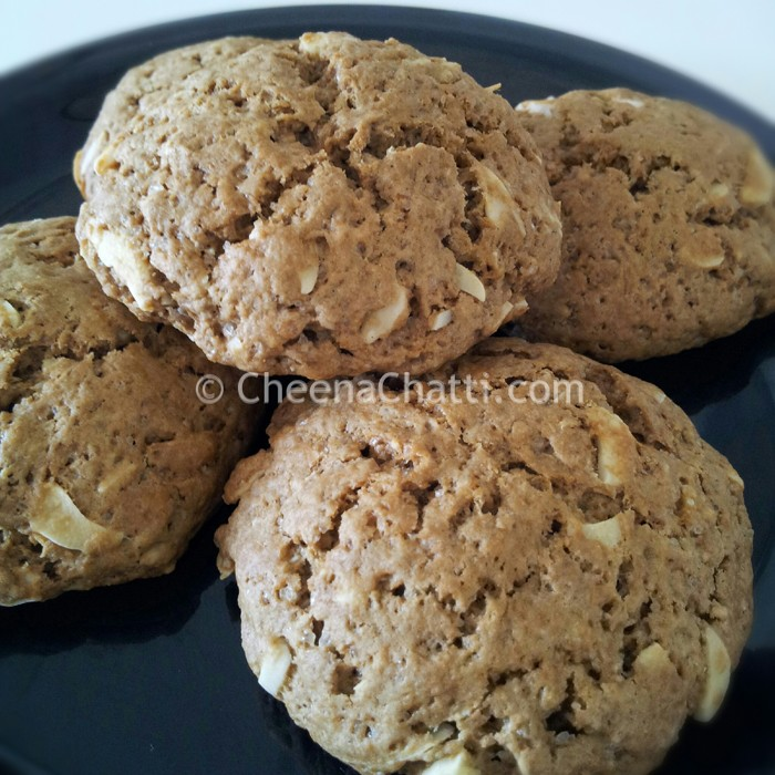 chocolate-almond-cookies