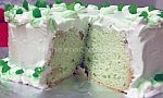 Pistachio Walnut Cake