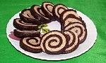 Chocolate Almond Pinwheel Cookies