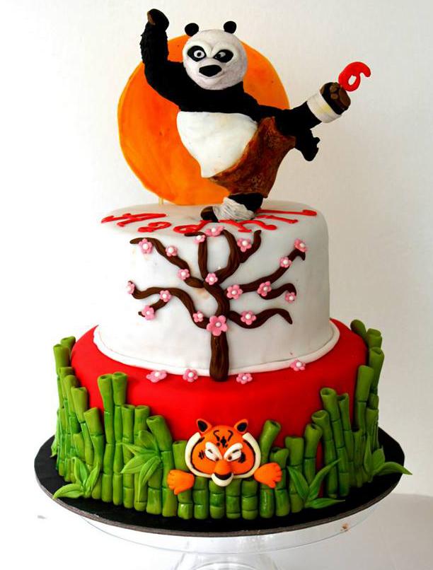 kungfupanda cake