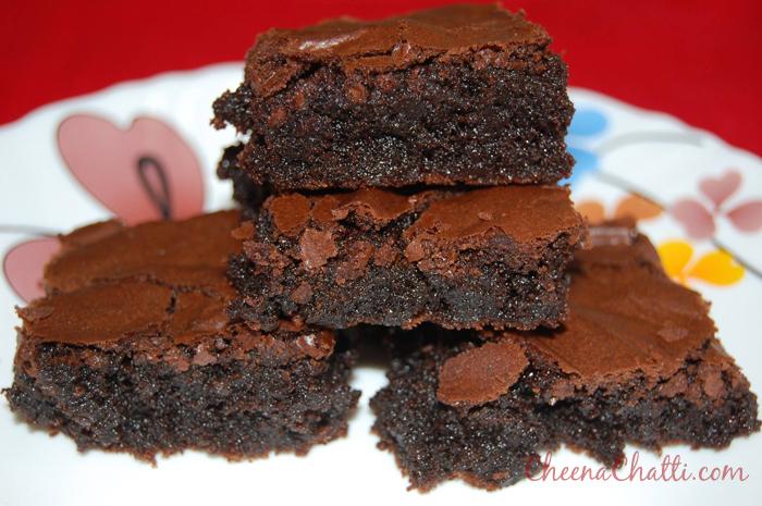 Double Chocolate Mocha Brownies