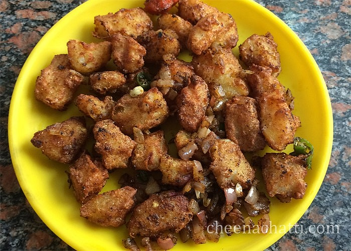 Aloo fry / Aloo roast - Easy potato fry recipe