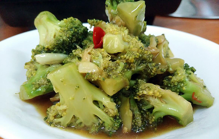 brocolli stir fry