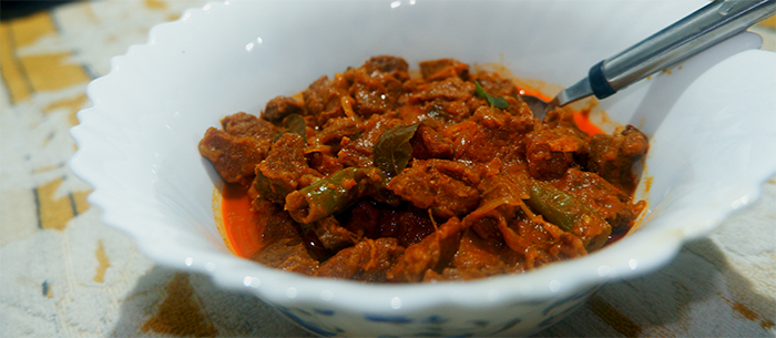 Simple Kerala Beef Curry